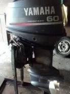 Yamaha. 60,00л.с., 2х тактный, бензин, нога L (508 мм), Год: 1997 год