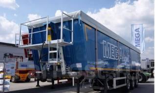 MEGA. Новый алюминиевый самосвальный полуприцеп Mega 28 m3, 35 000кг.