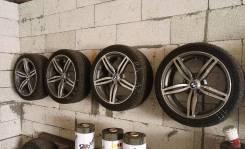 Колеса на BMW ET30 R18 резина 235/40 ZR18 Nokian Hakka Z. 8.0x18 5x120.00 ET30 ЦО 72,6мм.