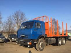 Камаз 53215. Сортиментовоз КамАЗ 53215 Евро-2, 10 850 куб. см., 14 000 кг.