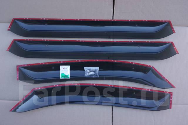 Ветровики (дефлекторы боковых окон) Mitsubishi DELICA D5