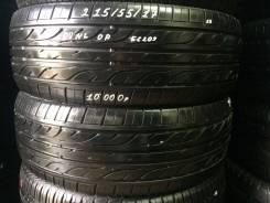 Dunlop Enasave EC202. Летние, 2010 год, износ: 5%, 2 шт
