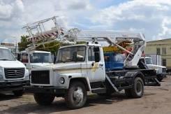 ГАЗ 3309. Автогидроподъемники телескопические на базе газ-3309 - та-22, 22 м.