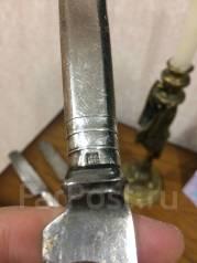 Серебрянный нож! Столовое серебро 84 проба 19 век. Оригинал