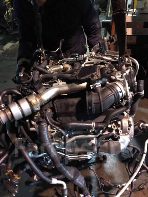 Новый двигатель 3.0D V9X655 на Infinity без навесного