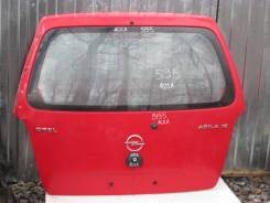 Дверь багажника. Opel Agila