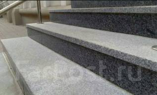 Ступени. Гранитные ступени. Плитка гранитная.