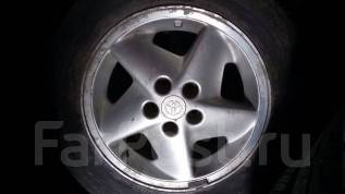 Два колеса 195/65R15 на литье 5*114.3R15. x15 5x100.00