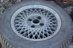 Литые диски с зимней резиной. x14 4x100.00