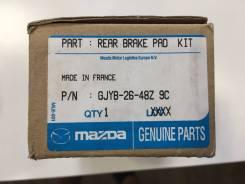 Колодка тормозная. Mazda Mazda6, GH Двигатели: MZR, L5VE