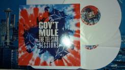 2LP, Gov't Mule – The TelStar Sessions , Limited Edition, White