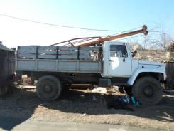 ГАЗ-33081. Буровая бкм-317 на базе газ 33081, 4 650 куб. см., 3 000 кг.