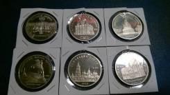 5 рублей СССР в состоянии ПРУФ 6 монет очень дешево !