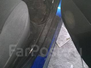Накладка на порог. Toyota: Corolla Spacio, Allex, Corolla Axio, Corolla Verso, Corolla Fielder, Corolla, Corolla Runx Двигатели: 1NZFE, 1ZZFE, 2C, 2NZ...