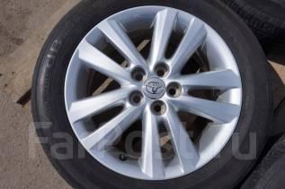 195/60R16 Летние шины с литыми дисками Toyota. Без пробега по РФ. 6.0x16 5x100.00 ET45 ЦО 54,1мм.