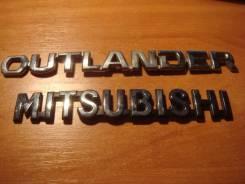 Эмблема багажника. Mitsubishi Outlander