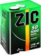 ZIC. Вязкость 15W-40, минеральное