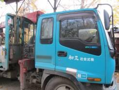 Isuzu Forward. Продам манипулятор Исузу Форвард 1997 г, 8 200 куб. см., 5 000 кг., 9 м.