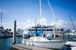 Парусная яхта. Длина 9,50м., Год: 1986 год. Под заказ