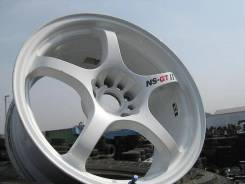 NS Wheels. 8.0/9.0x18, 5x114.30, ET-32/-38, ЦО 73,0 мм.