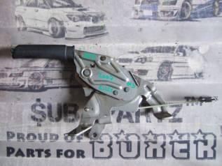 Ручка ручника. Subaru Legacy, BPH, BLE, BP5, BL5, BP9, BL9, BPE Двигатели: EJ20X, EJ20Y, EJ253, EJ255, EJ203, EJ204, EJ30D, EJ20C