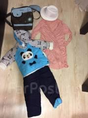 Зимний детский комбинезон и прочие вещи