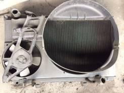 Радиатор охлаждения двигателя. Toyota Aristo, JZS147