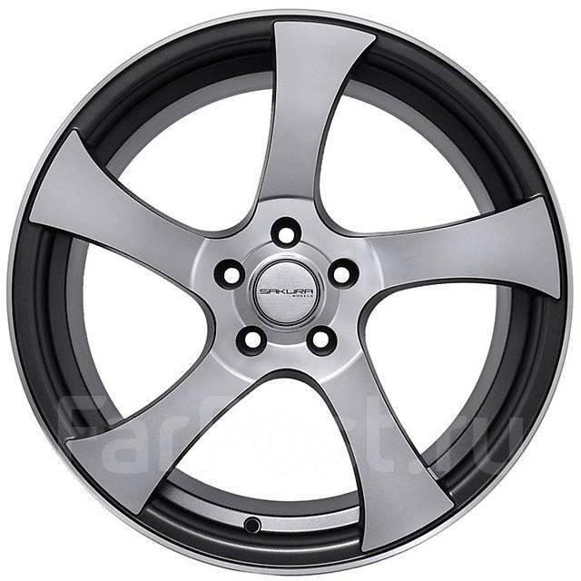 Sakura Wheels. 8.5x19, 5x114.30, ET40, ЦО 73,1мм.