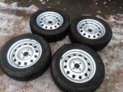 Комплект зимних шипованных колёс 4*108. 6.0x15 4x108.00 ET27 ЦО 65,1мм.