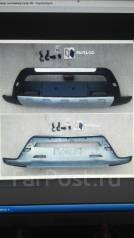 Накладка на бампер. Toyota RAV4, ACA38, ACA36, ACA36W, ACA30, ACA31, ACA31W, ACA33 Двигатели: 2AZFE, 1AZFE