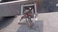 Крепление запасного колеса. Mitsubishi Fuso