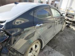 Hyundai Avante. Продам птс хендай аванта 2011 черная 1,6л акпп
