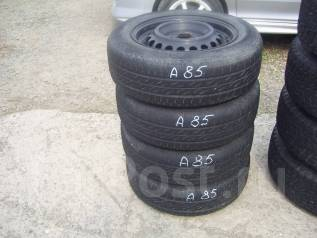 Комплект летних шин 175/65 R-14 на дисках 4х100. 5.5x14 4x100.00 ЦО 55,0мм.