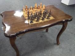 Продам шахматный стол ручной работы с шахматными фигурами