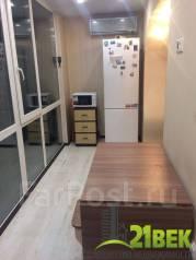 1-комнатная, улица Карбышева 54. БАМ, агентство, 42 кв.м. Кухня