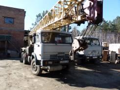 Галичанин КС-55713-1. Продам автокран КС-55713-1 25 тонн с гуськом 2002 г., 10 850 куб. см., 25 000 кг., 30 м.