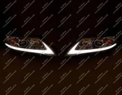 Тюнинг фары Lexus стиль + бег. поворот. Camry 40 (Камри) 09-11г.