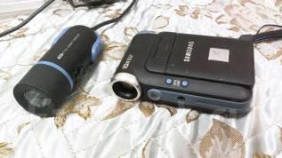 Samsung VP-X110L. Менее 4-х Мп, с объективом