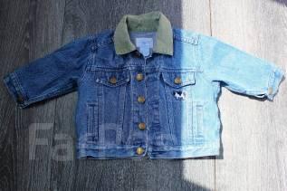 Куртки джинсовые. Рост: 74-80, 80-86 см