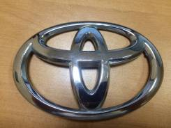 Эмблема багажника. Toyota: Corolla, Corolla Rumion, Wish, Yaris, Highlander, Crown, Allion, Corolla Axio, Corolla Fielder, Vios, Premio, Belta Двигате...