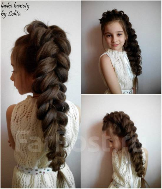 Фото причёски плетение
