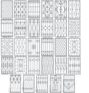 Решетки железные на окна лоджии балконы решетки. Под заказ