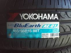 Yokohama BluEarth AE-01. Летние, 2017 год, без износа, 2 шт