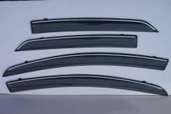 Ветровики (дефлекторы боковых окон) Toyota Vitz