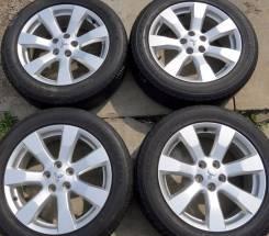 Mitsubishi R18 + Bridgestone 225/55/18 (колеса в сборе). 7.0x18 5x114.30 ET38 ЦО 67,1мм.