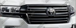 Решетка радиатора toyota Land cruiser 200 2016+, Executive black. Toyota Land Cruiser, URJ202, VDJ200, URJ202W Двигатели: 1URFE, 1VDFTV. Под заказ