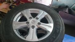 Продам шины Dunlop на оригинальных дисках Toyota. x18
