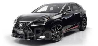 Обвес кузова аэродинамический. Lexus NX200. Под заказ