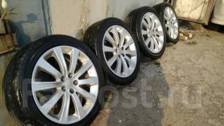 Продам комплект колес Subaru. 7.0x17 5x100.00 ET48