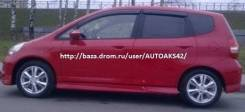 Ветровик на дверь. Honda Jazz, GD1, GD5 Honda Fit, GD2, GD3, GD1, GD4